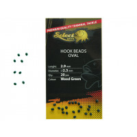 Opritoare Select Baits Oval Hook Beads Oval