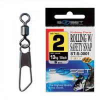 Agrafa Vartej Sunset ST-S-3001 No.4 9kg Rolling Safety Snap