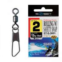 Agrafa Vartej Sunset ST-S-3001 No.8 5kg Rolling Safety Snap