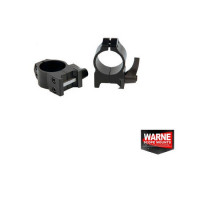 SET RING WARNE SCOPE MOUNTS QUICK WEAVER 30MM OBIECTIV 56-62MM