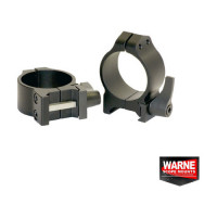Sistem Prindere Warne Scope Mounts Xx Set Ring Quick Weaver 30mm Obiectiv 24-42mm