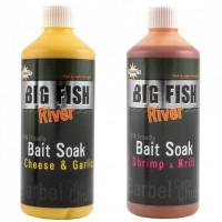 ADITIV LICHID DYNAMITE BAITS BIG FISH RIVER BAIT SOAK Cheese And Garlic 500ML