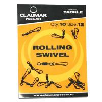 Agrafa cu vartej claumar Rolling Swivel Nr.4 10Buc/Plic
