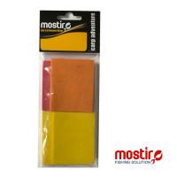 SPUMA FLOTANTA MOSTIRO SET 4 BUC 2 YEL/1 RED/1 ORANGE 5X6CMX6MM GROSIME
