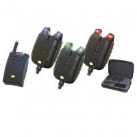 Set Avertizori Carp Academy Sensor WDX 3 plus 1