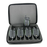 Set Avertizori Carp Academy Sensor WDX 4+1