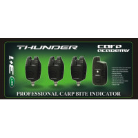 Set Avertizori Carp Academy Thunder 3 Plus 1