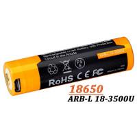 Acumulator cu Micro-USB Fenix 18650 - 3500mAh ARB-L 18-3500U