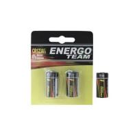 Baterii Energoteam Litiu Cr123 3v (2buc)
