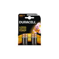 Baterii alcaline Duracell AAAK4 LR03 4 buc