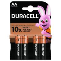 Baterii alcaline Duracell Basic AAK4 LR06 4 buc