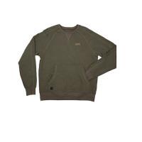Bluza Fox Chunk Crew Pouch Sweatshirt Green Marl Marime M