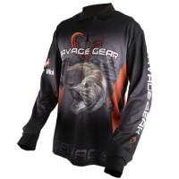 Bluza Savage Gear Tournament Jersey Pike/Zander/Perch, marime XL