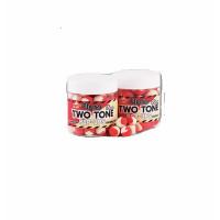 Boilies Dynamite Baits Pop-up Fluro Two Tone Strawberry   Coconut Cream 15mm