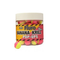 Boilies Dynamite Baits Pop-up Two-Tone Krill and Banana 15mm
