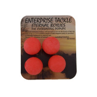 Boilies Enterprise Tackle Eternal Pop-Up Fluoro Boilies 12mm - Red