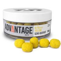 Dumbell Daiwa Critic Echilibrat Advantage Semi Buoyant 6/8mm Porumb Dulce Galben 30g/borcan