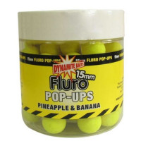 POP-UP DYNAMITE BAITS FLUORO PINEAPPLE BANANA  15MM