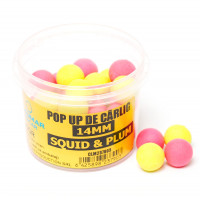 Pop Up Claumar Squid And Plum Yellow And Pink 35Gr 14mm