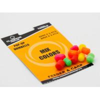 Pop Up Dumbells Claumar 10Buc 5x6mm-5x8mm Mix Color