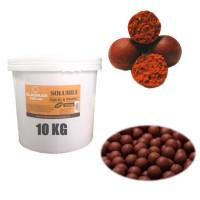 Boilies Claumar Fishmeal SolubileSquid And Capsuni 20mm 10Kg Cu GALEATA