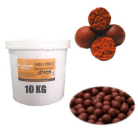 Boilies Claumar Fishmeal Tare Squid And Capsuni 16mm 10kg Cu Galeata