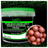 Boilies Carlig Mg Special Carp Dipuit Squid Octopus Pruna (14-16-18mm) 200gr