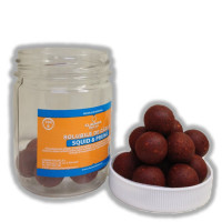 Boilies Claumar Fishmeal De Carlig Solubile Squid Pruna 100gr