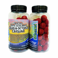 Boilies Critic Echilibrat MG Squid And Octous Capsuna 70gr