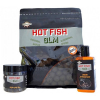 Boilies Dynamite Baits Hot Fish GLM 15mm 1kg