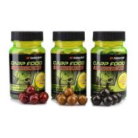 Boilies Tandem Baits Carp Food Mini Oil Hookers 12mm/50g Black Halibut