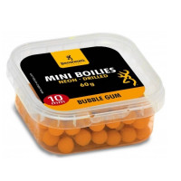 Mini Boilies Browning Neon Pre-drilled Orange Bubble Gum 10mm