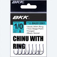 Carlige BKK Chinu-R Diamond Black Nickel Nr.4 10buc/plic