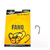 Carlige Claumar FANG Teflon Technology Nr 4 10Buc/Plic