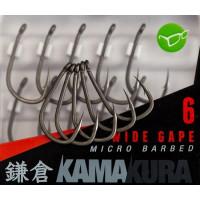 Carlige Korda Kamakura Wide Gape Nr 6 10buc/cutie