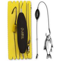 Rig Somn Black Cat 10/0 U-Float Rig Single Hook XL