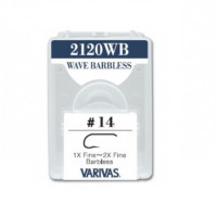 CARLIGE VARIVAS FLY 2120WB 1X-2X FINE NR 20 F/BARB