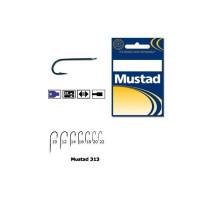 Carlig Mustad Concurs M313, Tija Lunga, Negru/Albastru, 10buc/plic Nr.12