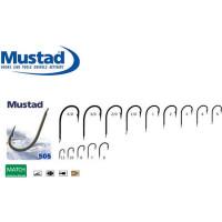 Carlig Mustad M505 Revers, Negru Mat, 10buc/plic Nr.8