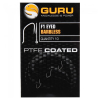 Carlige Guru F1 Eyed Barbless Nr. 16