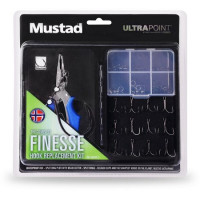 Combo Cleste Mustad Multifunctional + Accesorii Hook Replacement Finesse