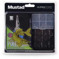 Combo Cleste Mustad Multifunctional + Accesorii Hook Replacement Pike