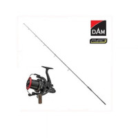 Kit Lanseta DAM MAD D Fender III UK50 3.90 m 3.50 Lbs PLUS Mulineta DAM Quick Z Base