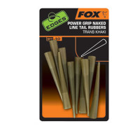 Con Fox Clips Plumb Pierdut Grip Naked Line Tail Rubbers S