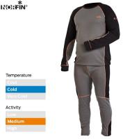 Costum Termic Norfin Comfort Line Gray Xxl