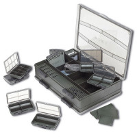 Set Cutii Pentru Accesorii Fox F Box Deluxe Large Double