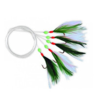 Streamer Zebco M Rig Nr1/0 Green White