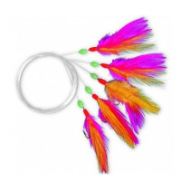 Streamer Zebco M Rig Nr1/0 Pink Yellow