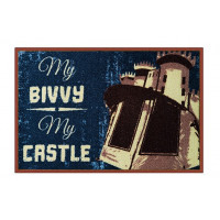 Covor Delphin My bivvy my castle 60 x 40 Cm
