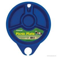 Farfurie Coghlans pentru picnic din plastic dur